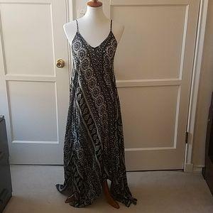 Final Touch patterned boho maxi dress